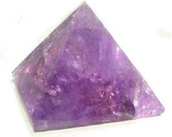 Amethyst Pyramid Shaped Purple Stone