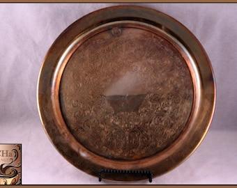 Vintage Oneida Silversmiths Silver Serving Platter