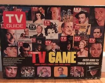 Vintage 1984 TV Guide board Game