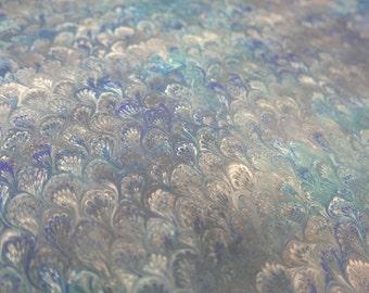 Paper marbling 48 x 68 cm inkjet shore tradition 120 grams - 1