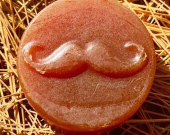 Organic Men's Moustache Soap