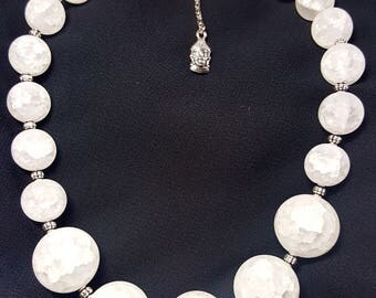 White Crackle Crystal stone