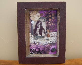Assemblage Art - Bohemian Art - Mixed Media