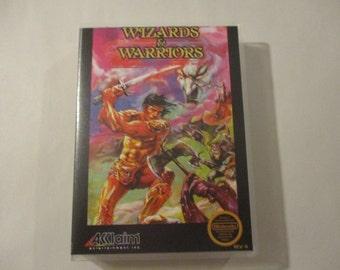 Wizards & Warriors Custom NES Nintend Case (***NO GAME***)