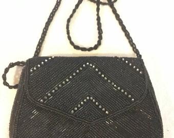 La regale vintage beaded purse