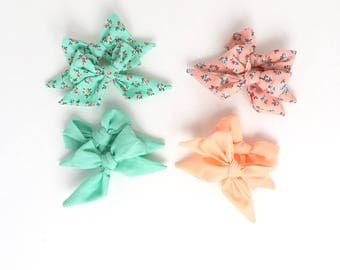 Pigtail clips, hair clips