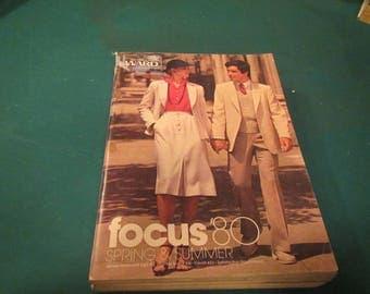 1980  ** Montgomery Ward ** Spring and Summer Catalog ** sj