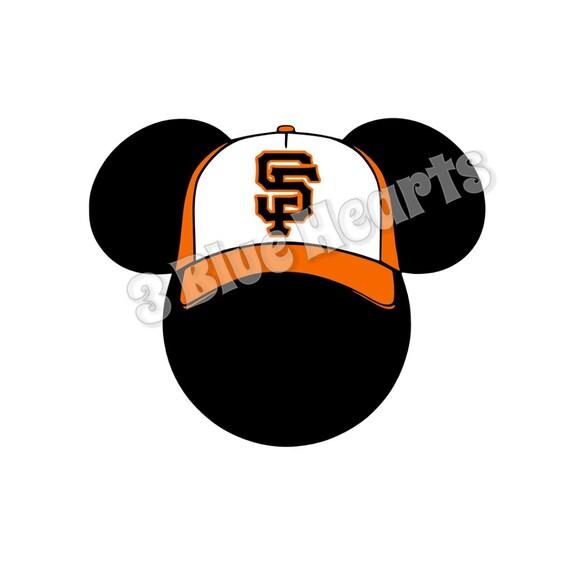 Sf Giants Mickey Head Baseball Mickey Head Sf Giants