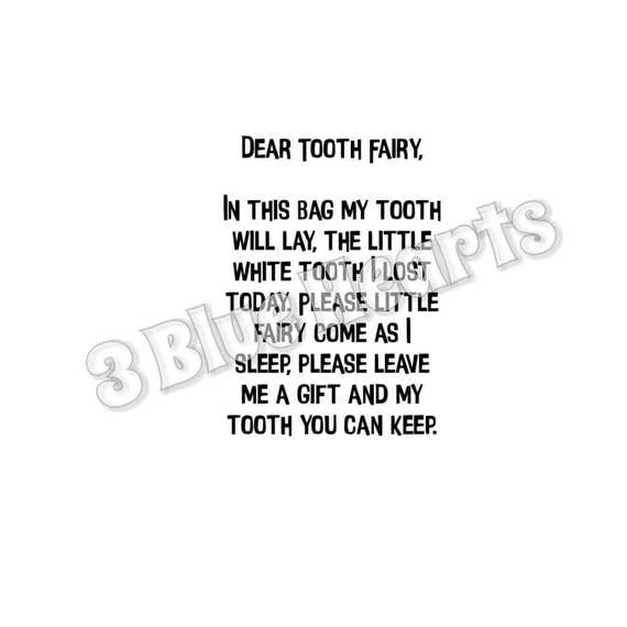 Tooth fairy bag fairy and sayings svg studio dxf pdf jpg for Bathroom quotes svg