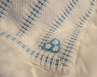 Peak-a-boo Baby Blanket Pattern