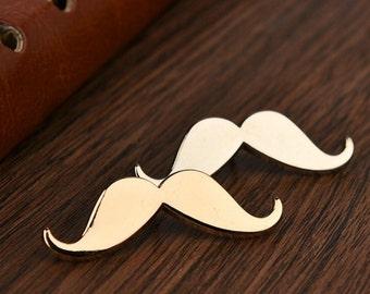 Mustache Pin Boyfriend Gift Men's Gift Anniversary Gift for Men Husband Gift Wedding Gift For Him Groomsmen Gift for Friend Gift Ideas