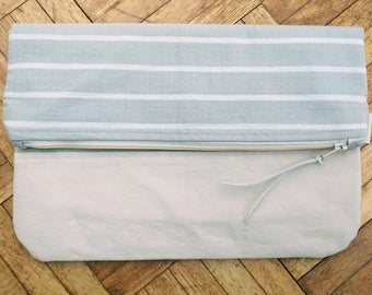 Handmade Striped Clutch Bag (2 designs)