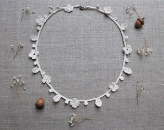 SALE -15% | Natural-Style Crochet Necklace / Headband