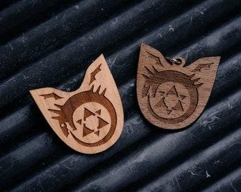 Ouroboros Badge/pendant - full Metal Alchemist inspired