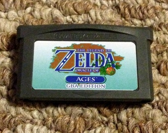 Legend of Zelda Oracle of Ages GBA Edition Custom FanMade