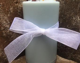 Mother Mary Deity Candle - 2 x 3.5 Inch Pillar