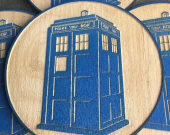 T.A.R.D.I.S. coasters!!!