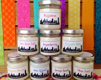 Buffalo NY Scented Candles - set of 12