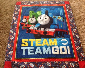Thomas the Tank Engine - Child's Lap Quilt