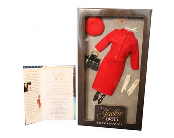 Franklin Mint Jackie Doll Accessory Canadian Mountie Red Suit Ensemble