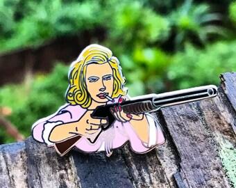 Betty Draper enamel pin - Mad Men
