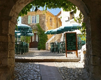 Eze,  French Riviera, Cote d'azur, Mountain Village