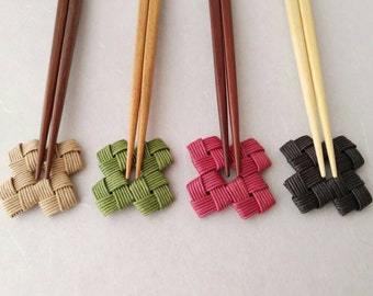 Pair of, chopstick rest, with chopstick, Japanese, eco friendly, gift, favor, birthday, party