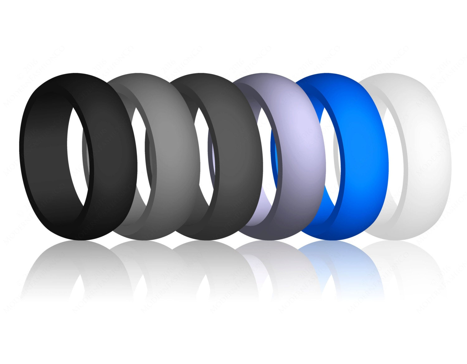best quality flex-fit silicone rubber wedding band ring