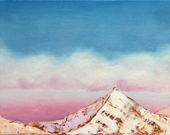 Pink Mountain Fine Art Print