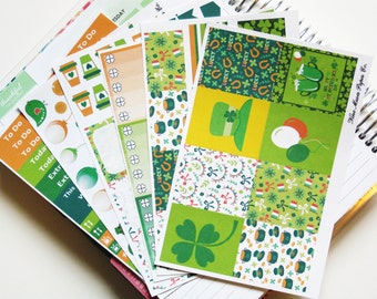Planner Stickers - St Patricks Day