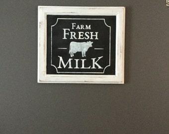 Farm Fresh Milk  special order
