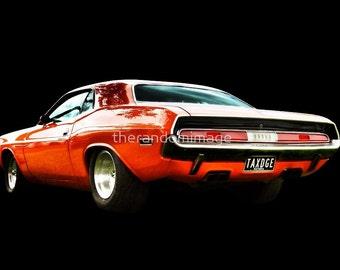 Dodge Challenger - Orange
