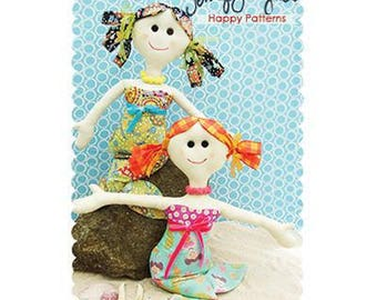 PATTERN SALE!  Lucy and Millie Mermaid by Jennifer Jangles