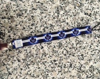 Toronto Maple Leafs Pacifier Clip