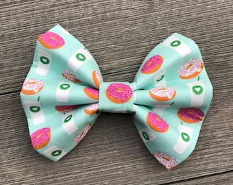 Coffee & Donuts Bow Tie