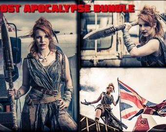 "Post Apocalypse Bundle - 3 x Signed Prints (8"" x 12"")"
