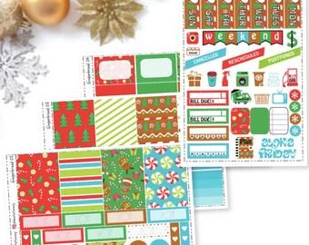 Christmas Gingerbread Planner Sticker Kit