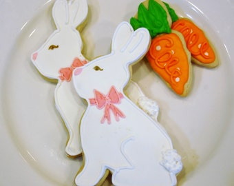 Bunnies and Carrots Item #1013