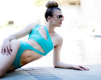 Chloe  One Shoulder Swimsuit