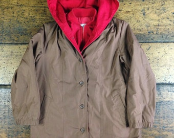 London Fog Long Parka Coat Jacket