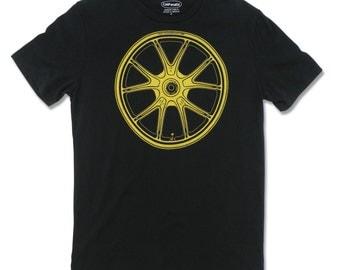 Motorcycle Tee-shirt, Marchesini Magnesium Corsa Wheel, motorcycle gifts, motorhead, moto t shirt, biker t shirt, motorcycle clothing