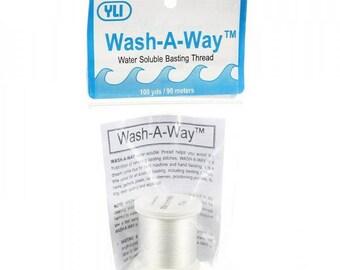 YLI Wash-A-Way Thread 100yd White