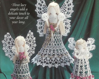 3 crochet angel pattern in pdf