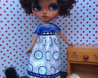 Customized OOAK doll Blythe type customized Blythe Doll