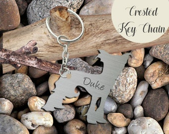 ON SALE Chinese Crested Key Chain Personalized Customized