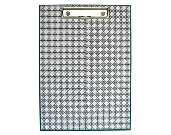 Clipboard blue A4 size in canvas