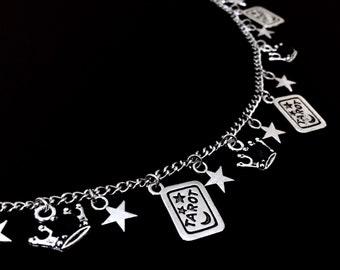 Tarot Bracelet, Gothic Bracelet, Witchy Jewelry, Tarot Charm, Gothic Jewelry, Empress Bracelet, Empress Jewelry, Tarot Card Jewelry
