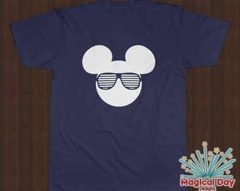 Disney Shirts - Mickey Mouse Stunner Shades (White Design)
