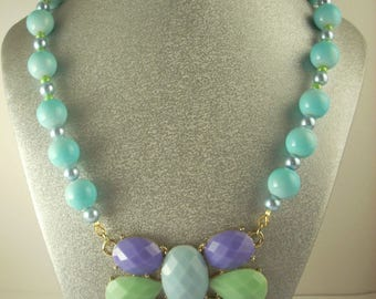 Perfectly Pastel Statement Necklace