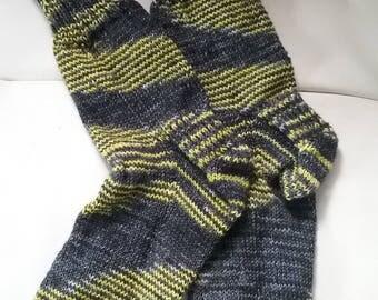 socks hand knit